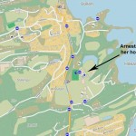 Arnestad Skole: Kart