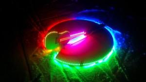 Gitar med LED